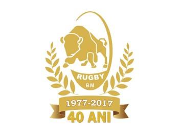 SIGLA ANIVERSARA RUGBY 40 DE ANI