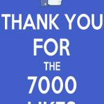 Am ajuns la 7.000