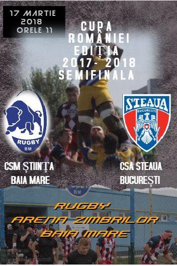 C.S..Știința Baia Mare – C.S.A.Steaua București echipele probabile